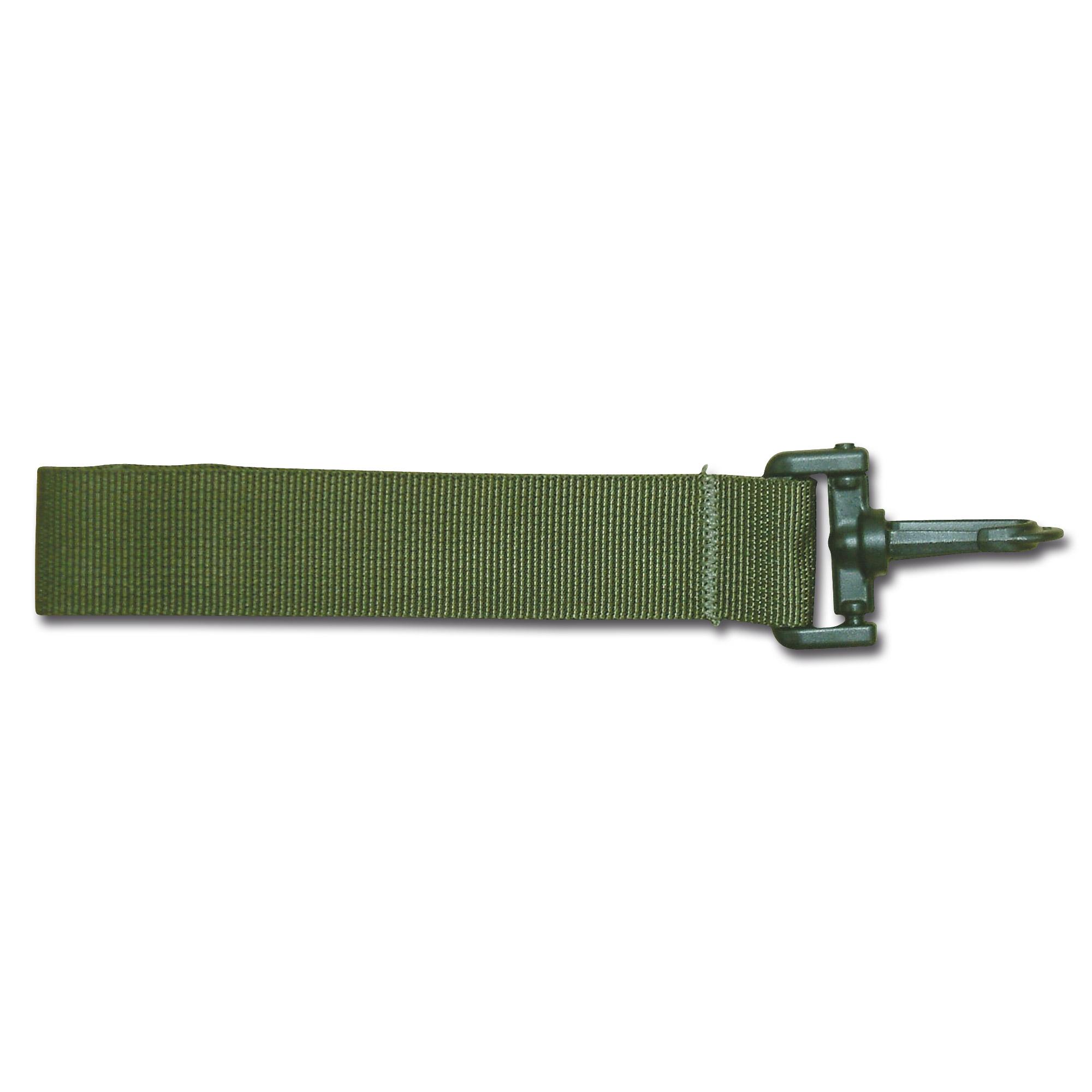 Belt loop olive 10 cm