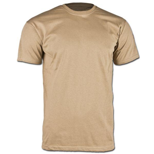 BW T-Shirt Tropical w/o Velcro coyote