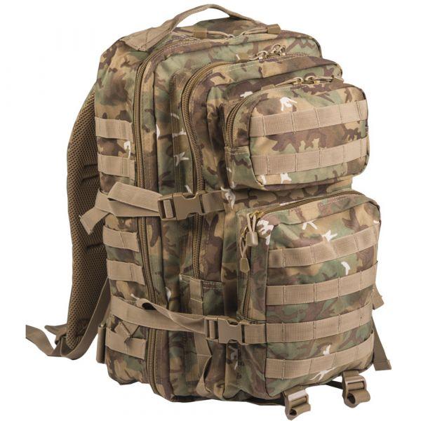 Mil-Tec Backpack U.S. Assault Pack II arid-woodland