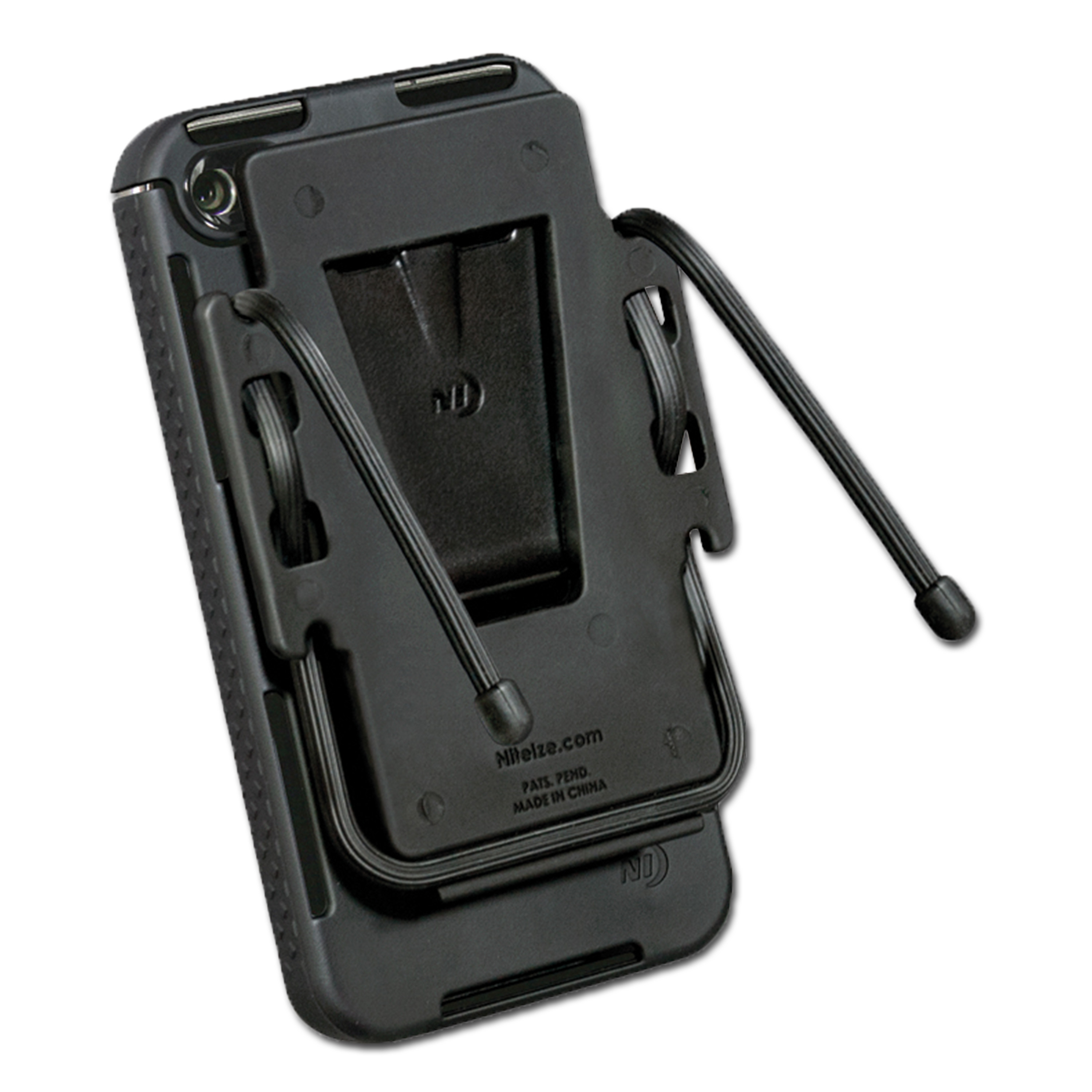 Combo Packet Nite Ize Connect Cradle iPhone 4/4S black