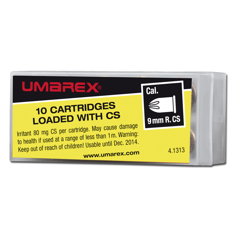 Gas cartridges 9 mm R
