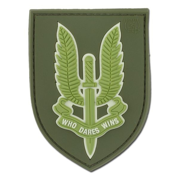 3D-Patch Who Dares Wins SAS forest