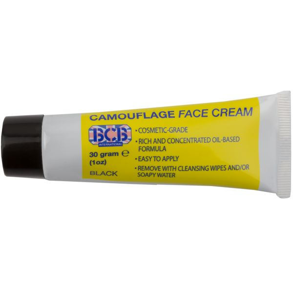 Camouflage Cream Tube black