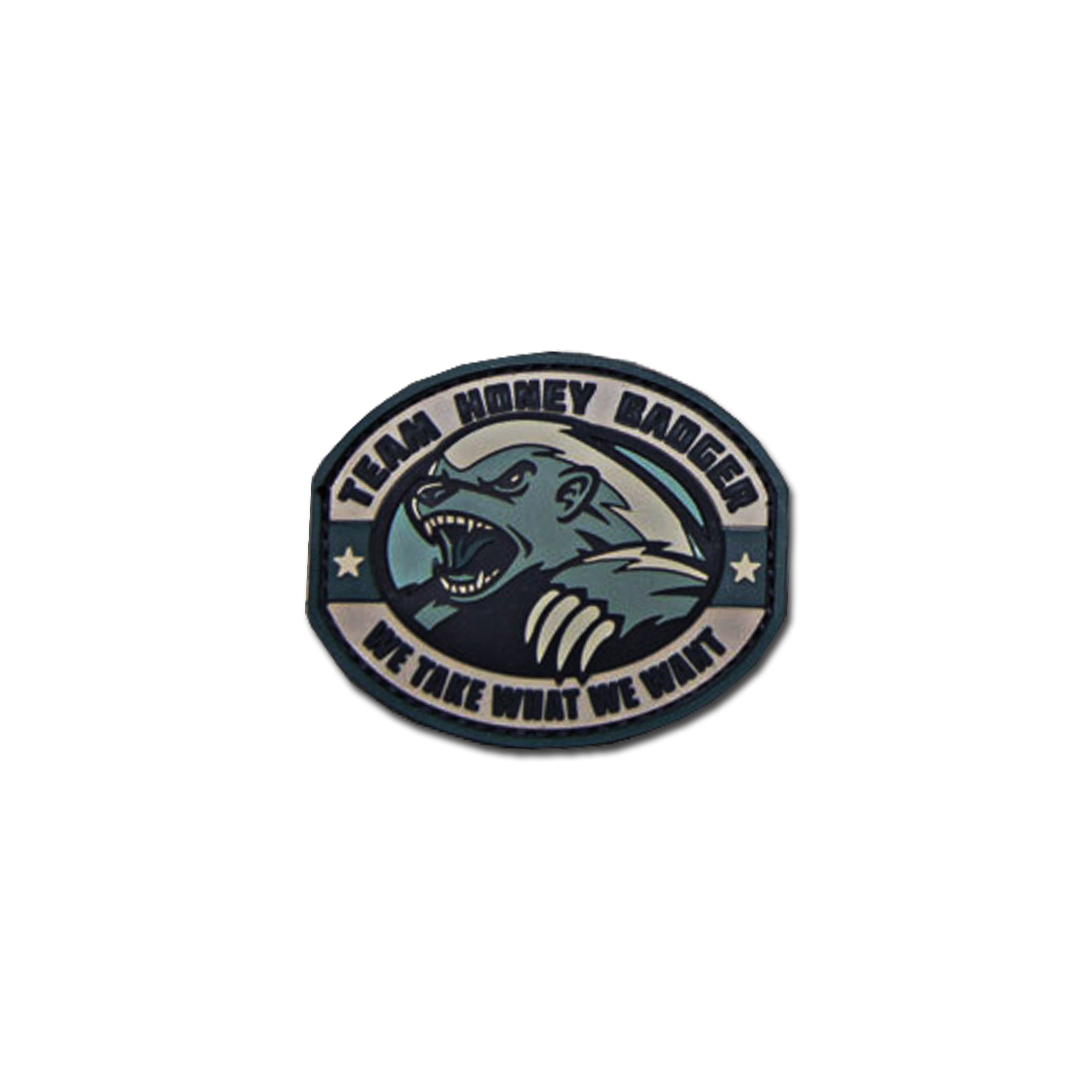 MilSpecMonkey Patch Honey Badger PVC acu