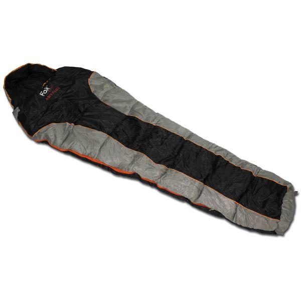 Mummy Sleeping Bag Fox Outdoor Advance black/grey