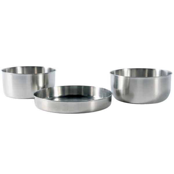 Tatonka Camping Stainless Steel Pot Set