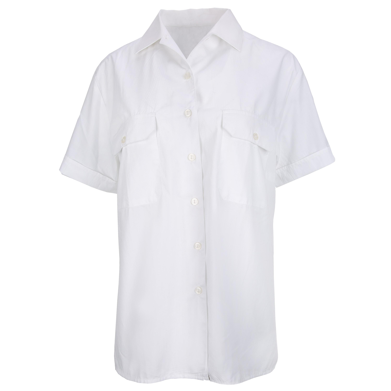 Used BW Women's Service Shirt Short Arm white