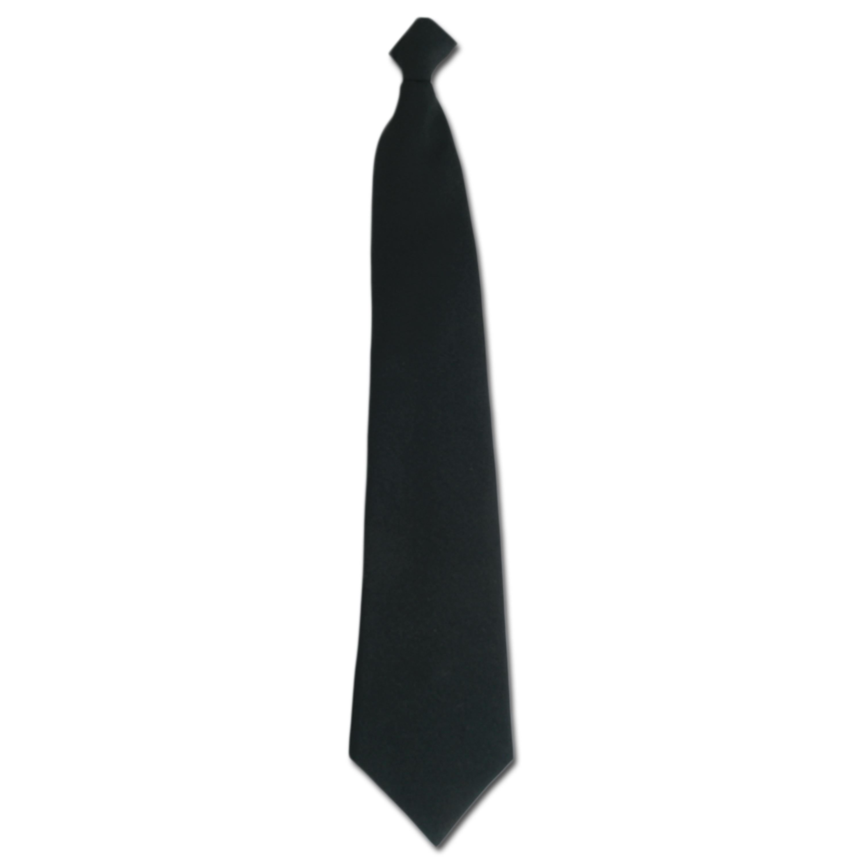 Security Tie black with clip