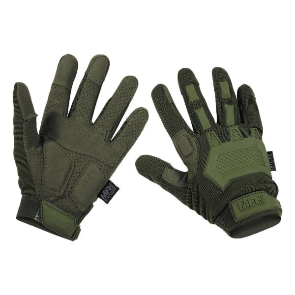 MFH Tactical Gloves Action olive