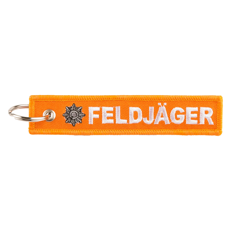 "Keyring ""Feldjäger"" orange"
