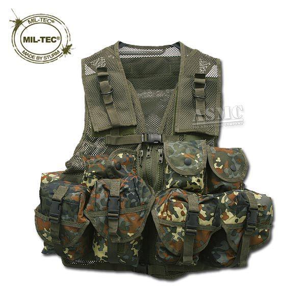 Tactical Vest Mil-Tec flecktarn