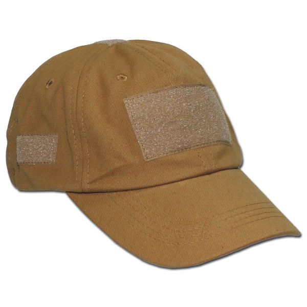 Operations Cap With Velcro Universal Size coyote