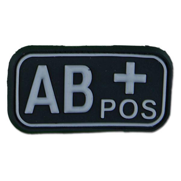 3D Blood Type AB Pos swat