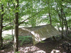 panneau solaire en tarp