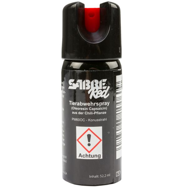 Sabre Red Pepper Spray M-60L-OC Liquid Stream 52.2 ml