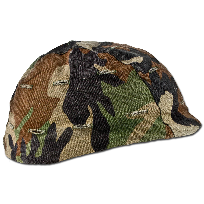 U.S. Helmet Cover Kevlar woodland Used