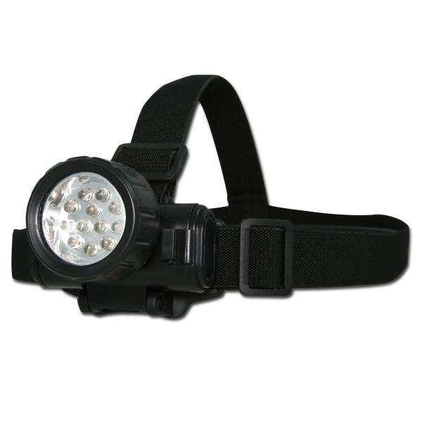 Head Lamp Mil-Tec LED black