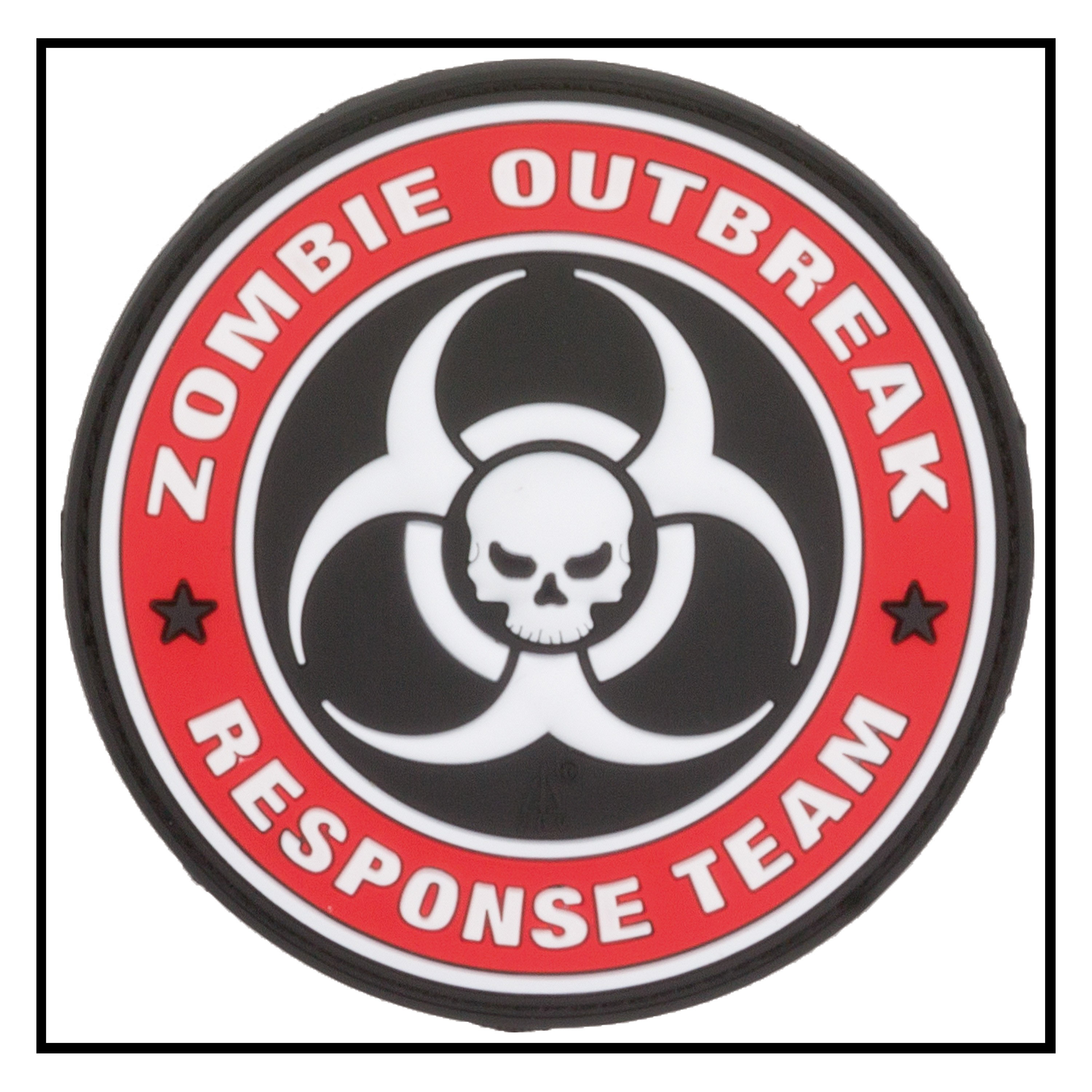 3D-Patch Zombie Outbreak Response Team fullcolor | 3D ...