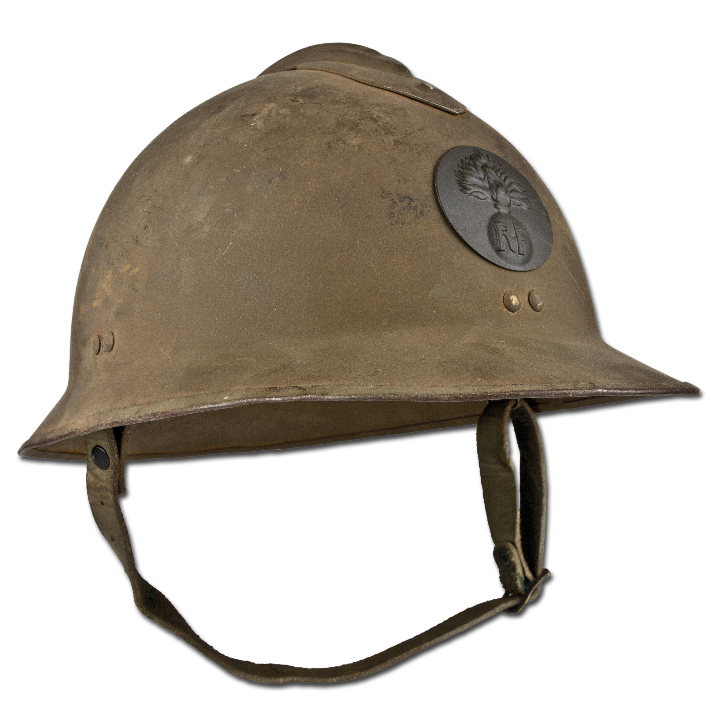 French Steel Helmet WWII Used