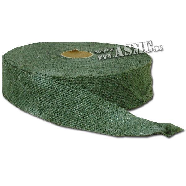 Burlap Roll green