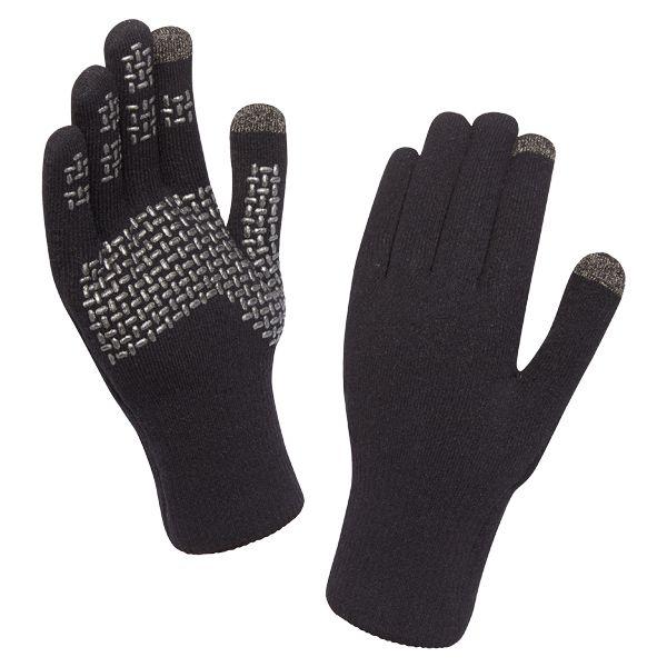 SealSkinz Gloves Ultra Grip Touchscreen black