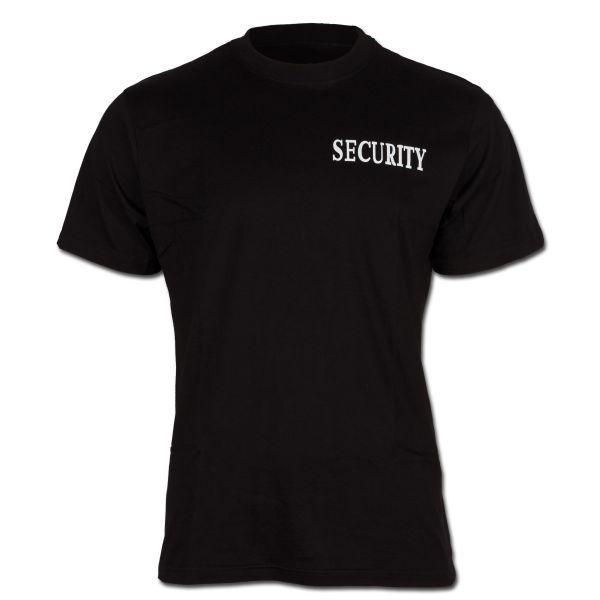 T-Shirt Security, front-backprint II
