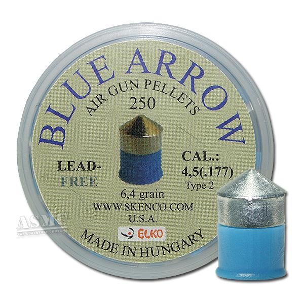 Pellets Blue Arrow