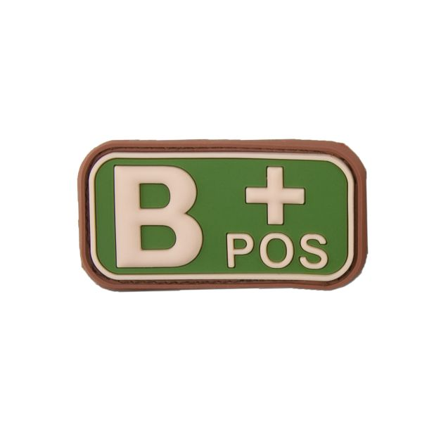 3D Blood Type B Pos multicam