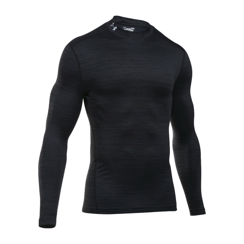 Under Armour Long Arm Shirt ColdGear Twist Mock black