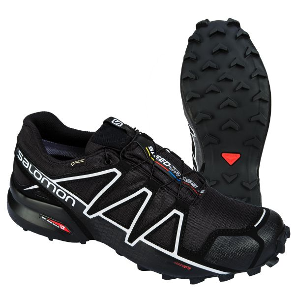 Salomon Shoes Speedcross 4 GTX black/silver