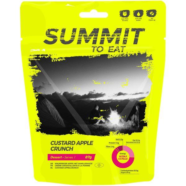 Summit to Eat Vanilla Pudding with Apple
