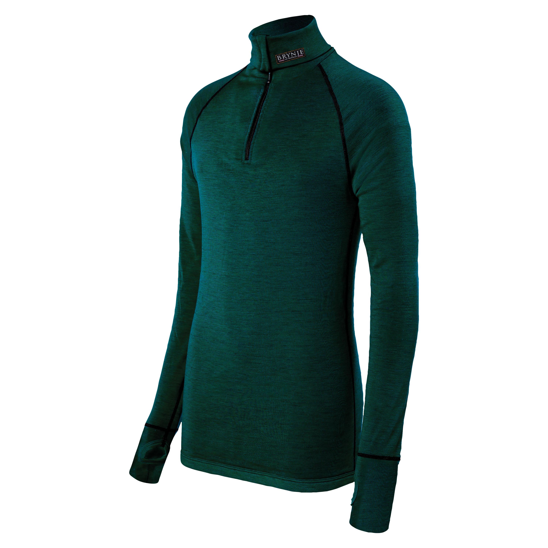 Brynje Arctic Zip Polo Shirt olive