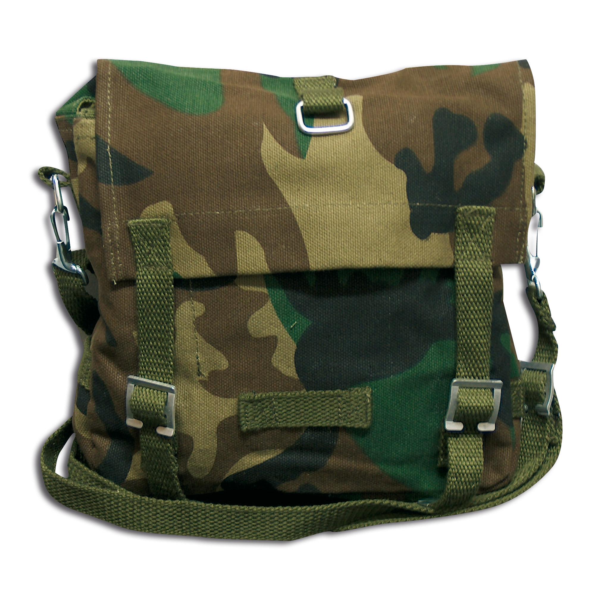 German Military Shoulder Bag woodland