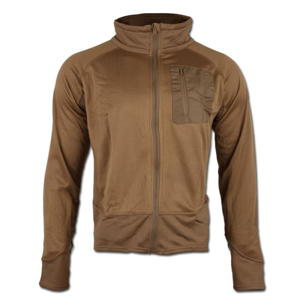Tactical Shirt Mil-Tec Thermo, coyote