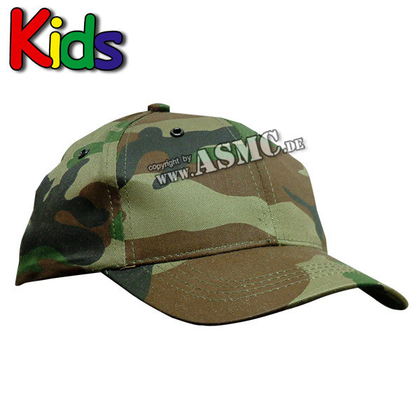 Baseball Cap Kids woodland