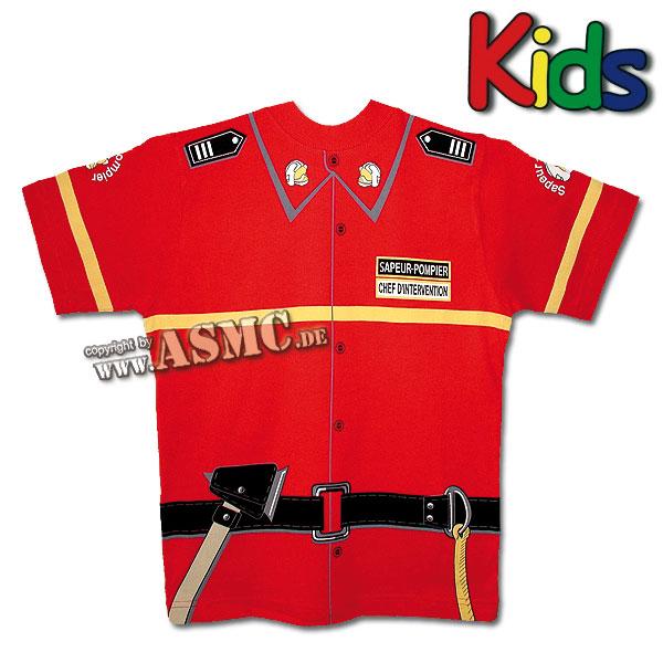 Kids T-Shirt Firefighter