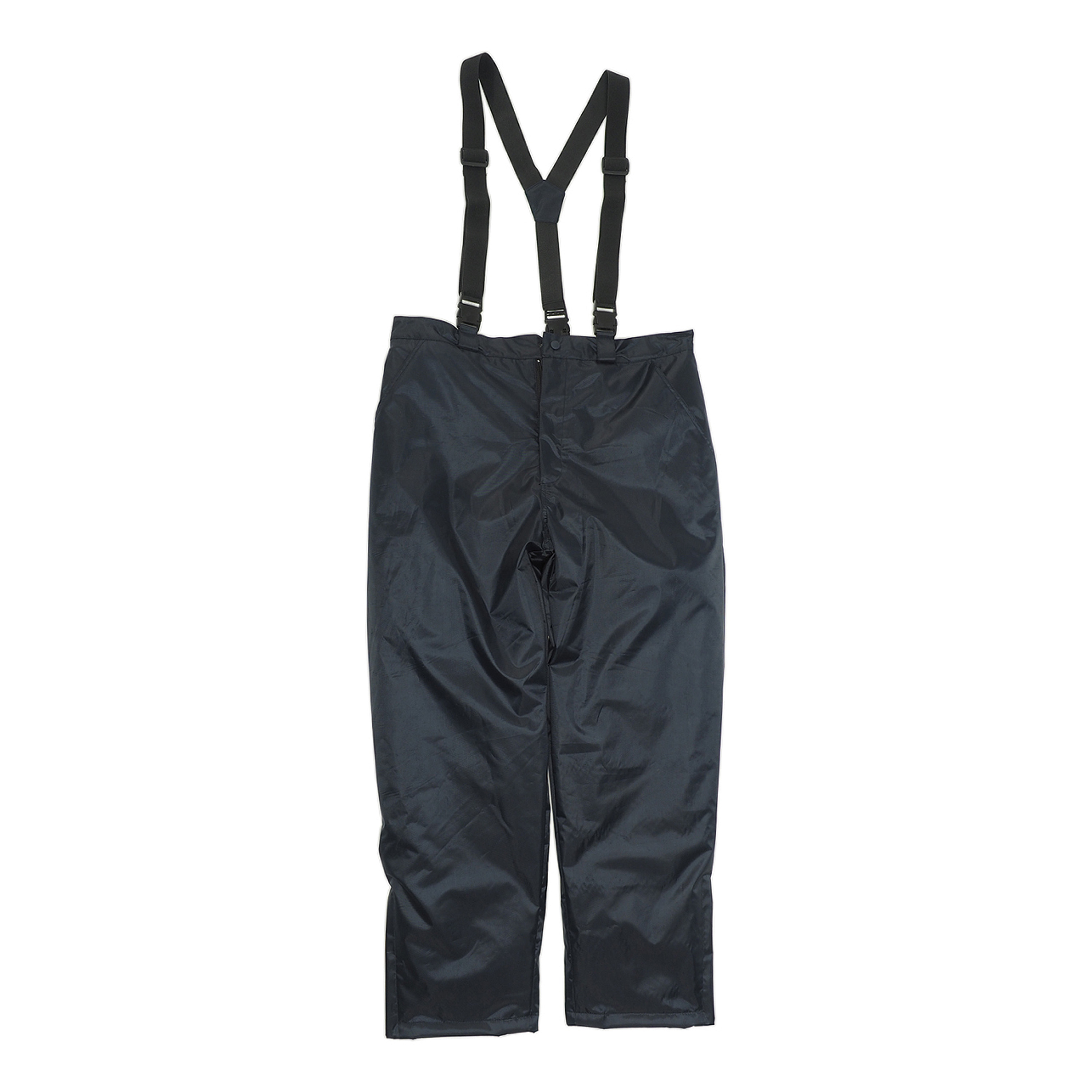 Thermo Pants with Suspenders Dark Blue