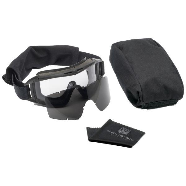 Revision Goggles Desert Locust Essential Kit black