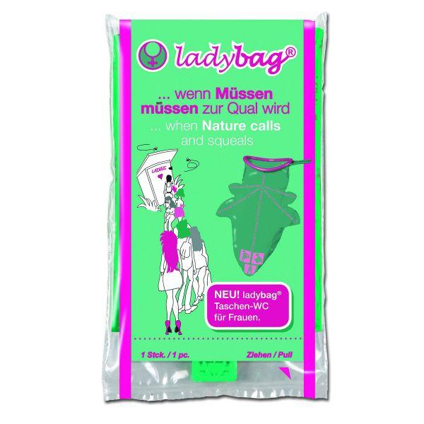 Pocket Toilet Ladybag
