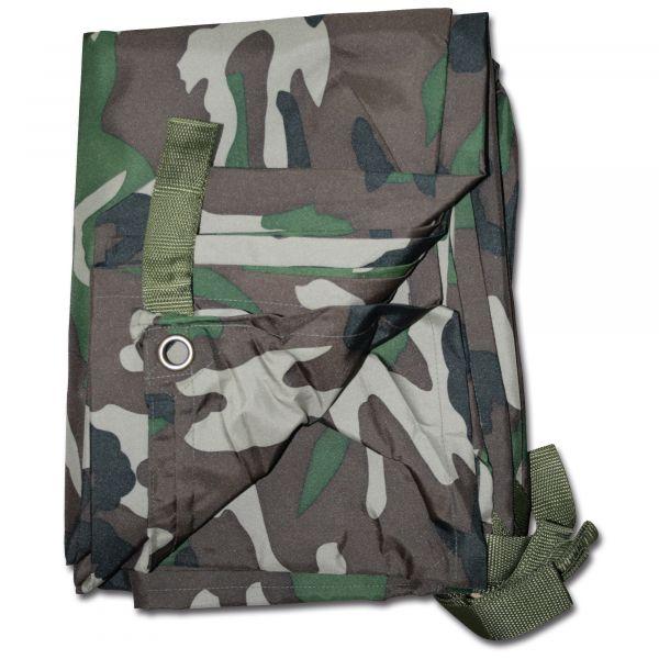 Commando Tarp woodland 300 x 220 cm