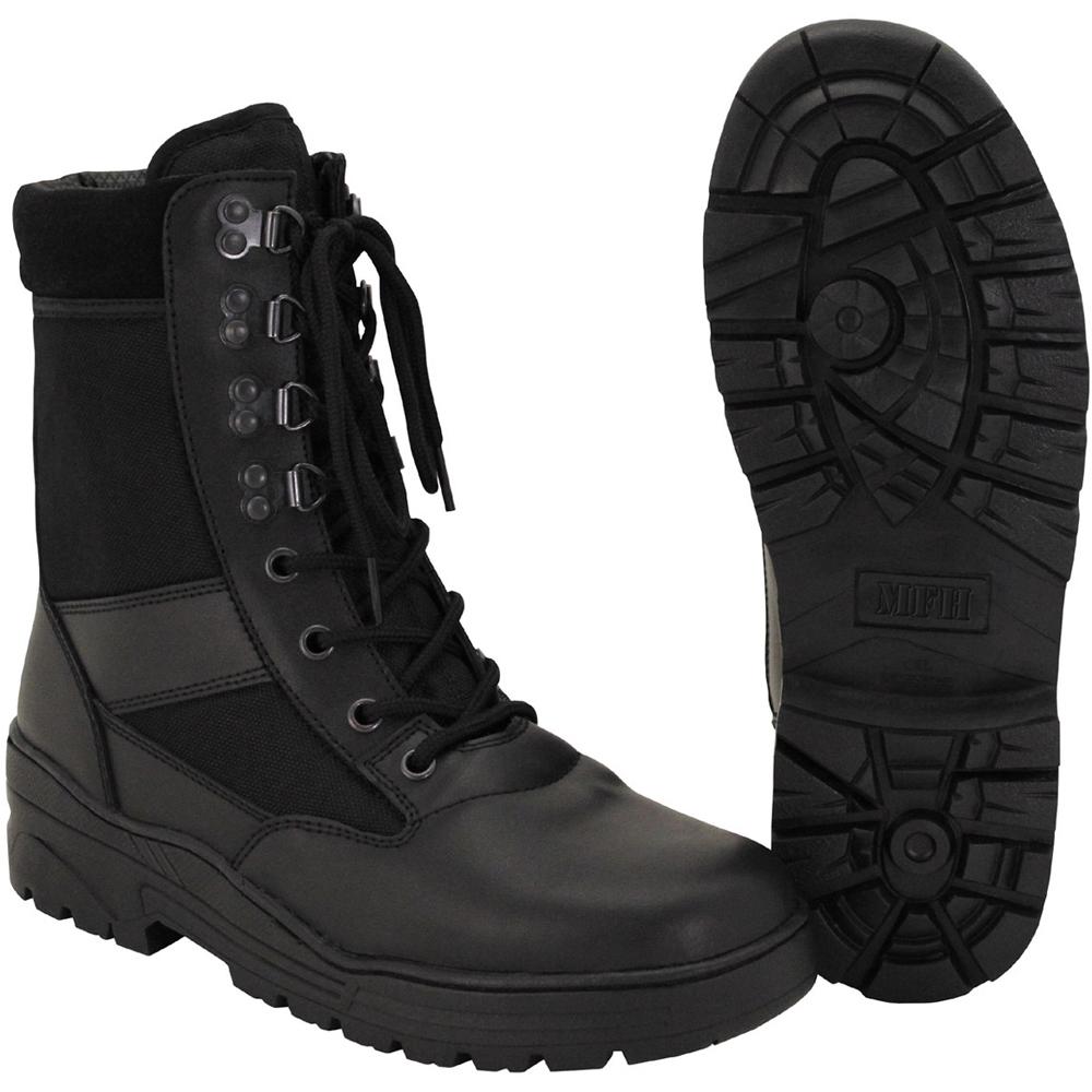 MFH 8 Hole Security Boot black