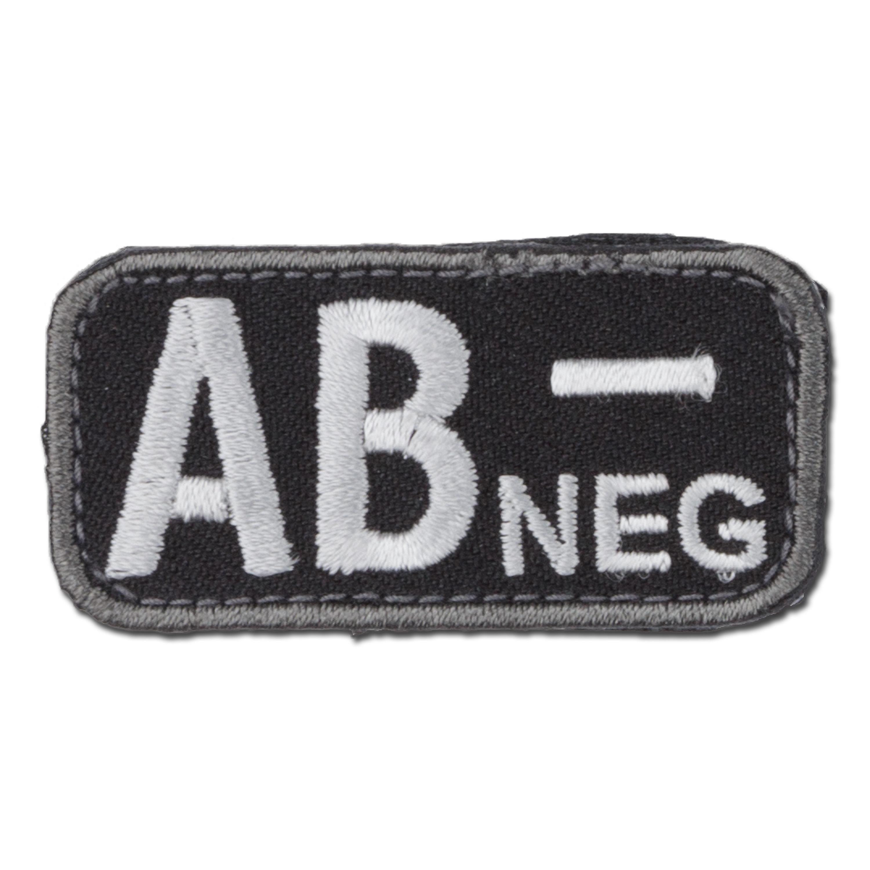 MilSpecMonkey Patch Blood Type AB Neg swat