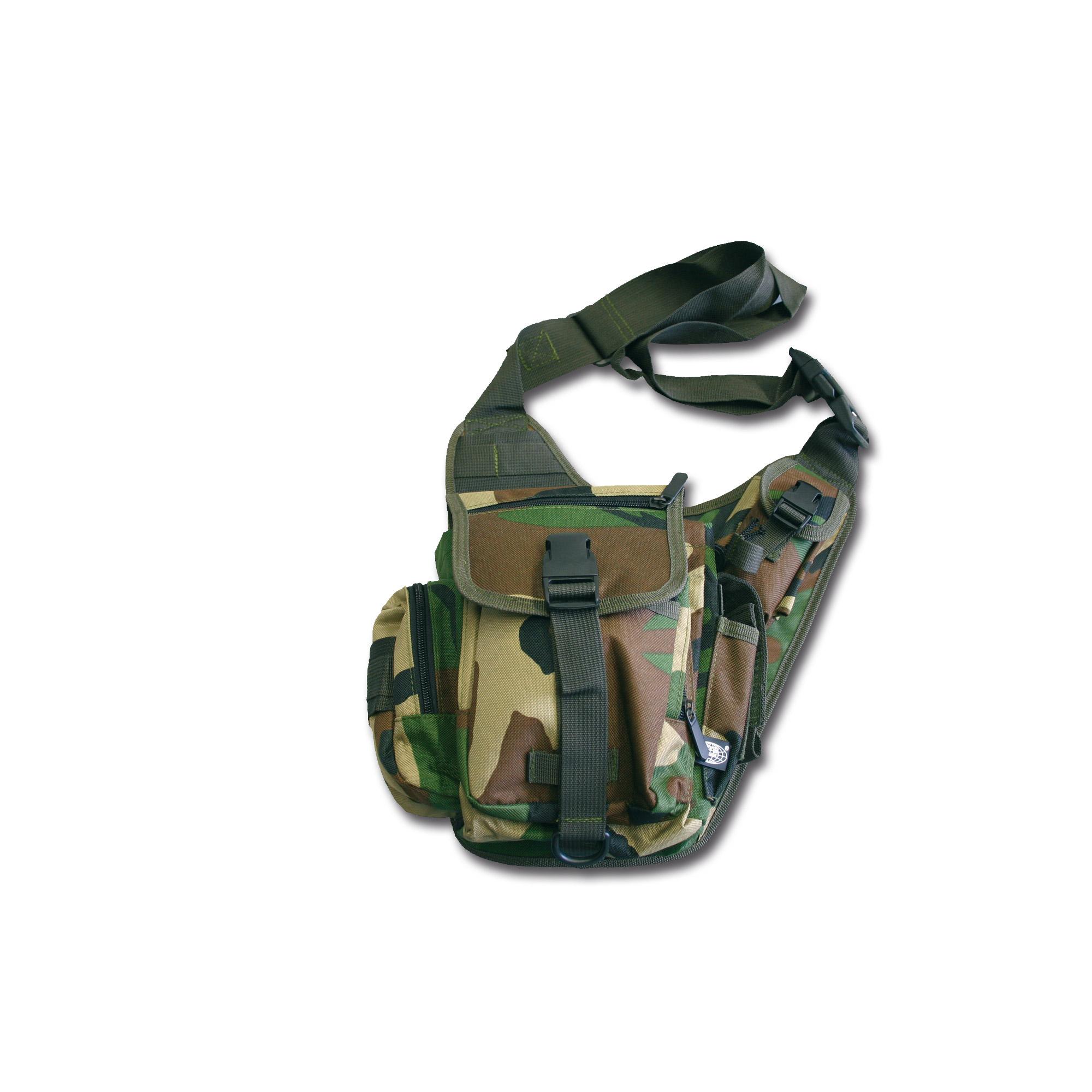 Shoulder Bag Combat woodland