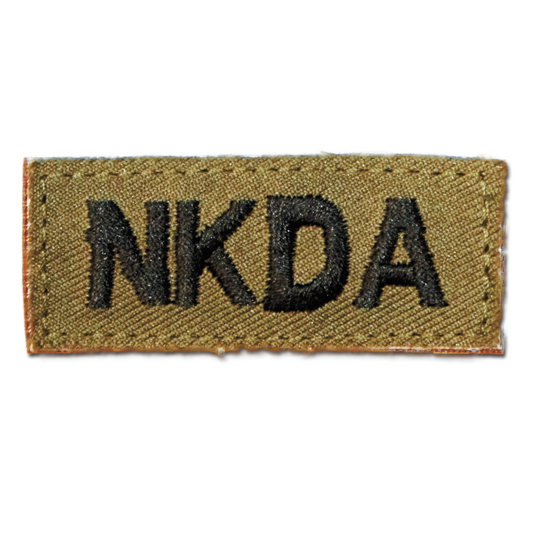 Insignia Textile NKDA Velcro khaki