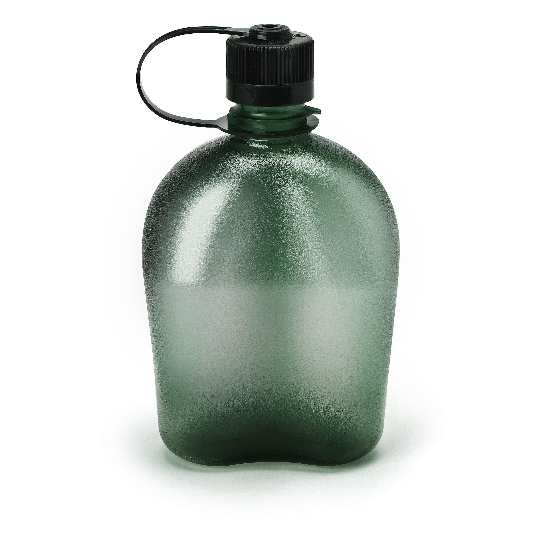 Helikon-Tex TRITAN Trinkflasche 1L großer Öffnung Wasserflasche BPA Free Schwarz