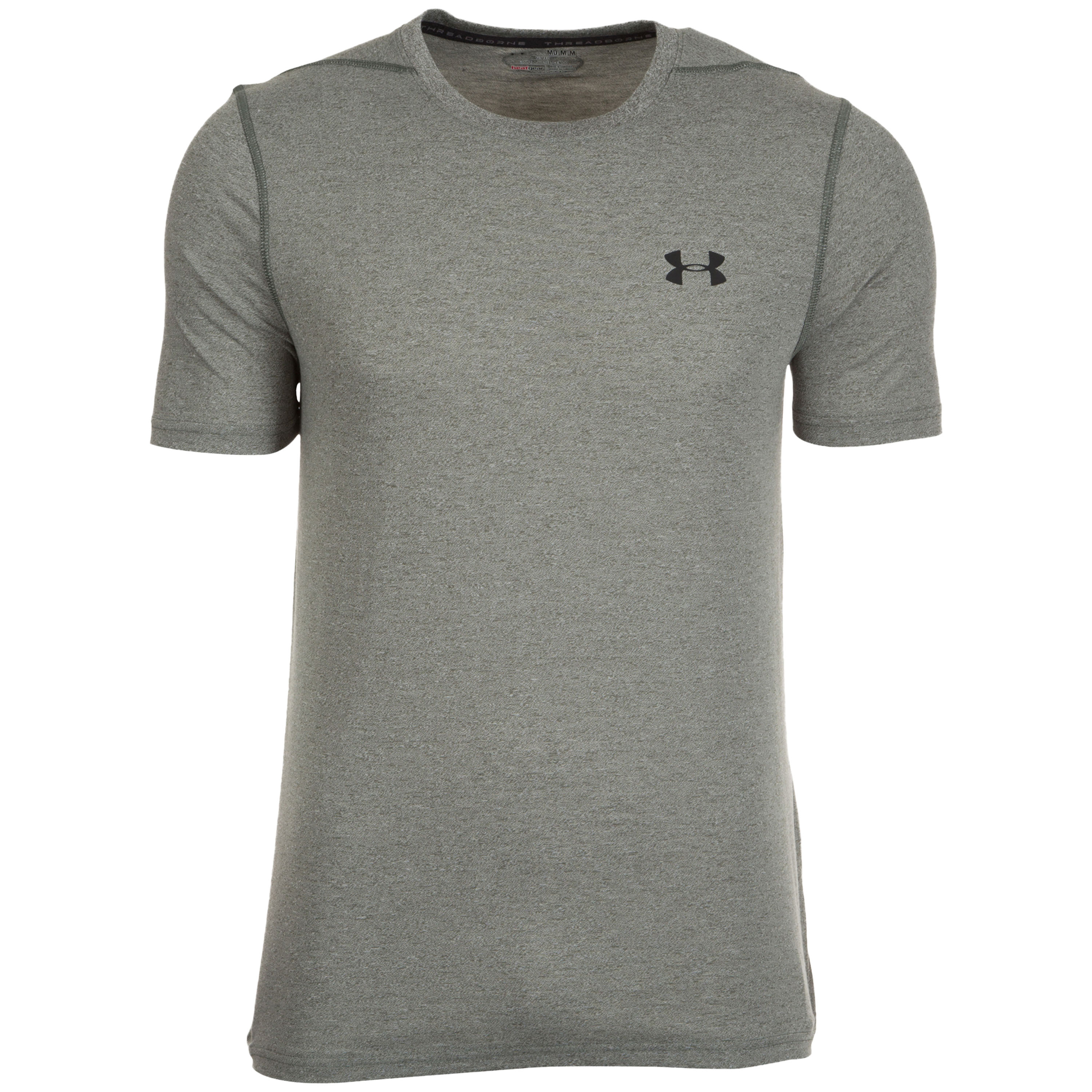 Under Armour Fitness Threadborne Fitted gray/olive