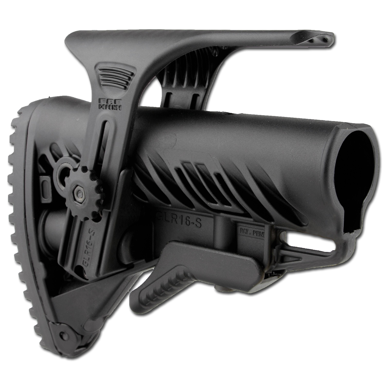 FAB Defense GLR-16 Butt Stock with Cheek Piece