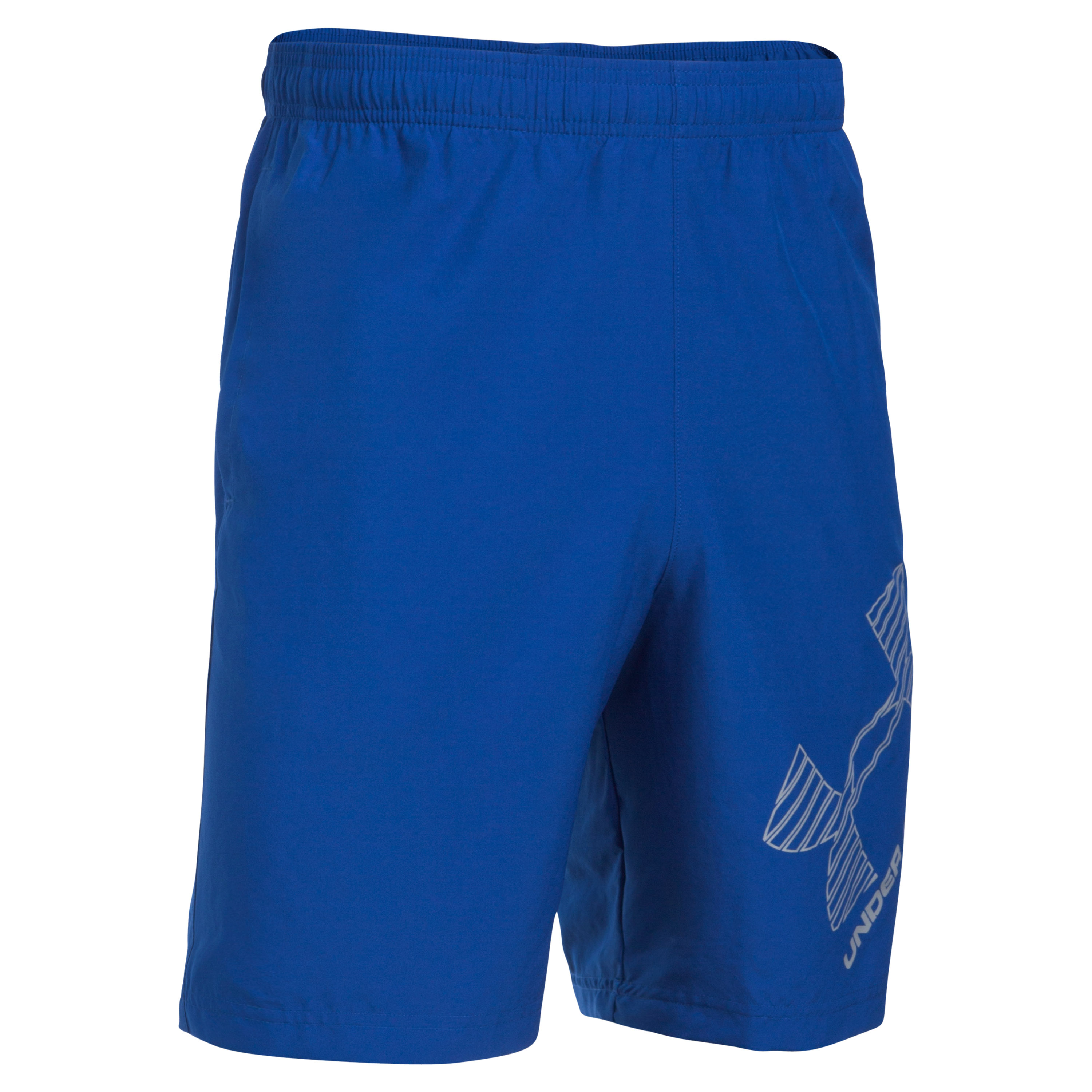 Under Armour Fitness Short Woven Graphic blue