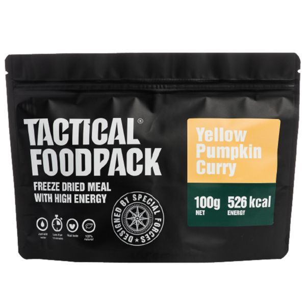 Tactical Foodpack Freeze Dried Meal Yellow Pumpkin Curry