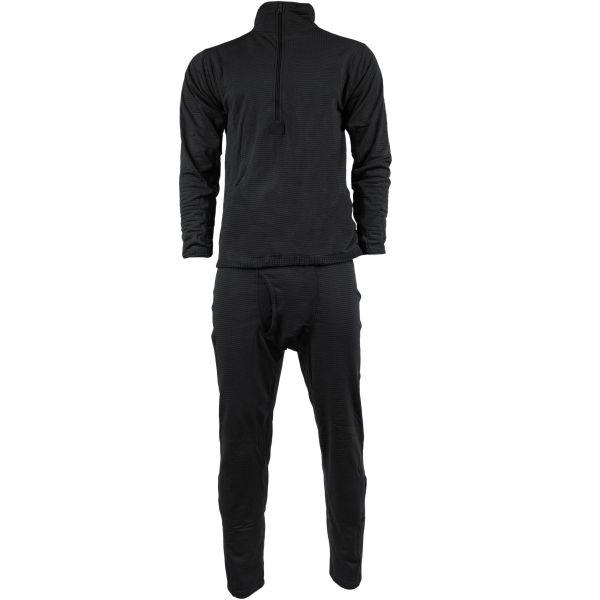 Long Underwear Set Thermofleece Generation III black